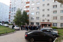 В Курске на улице Орловской восстанавливают электроснабжение